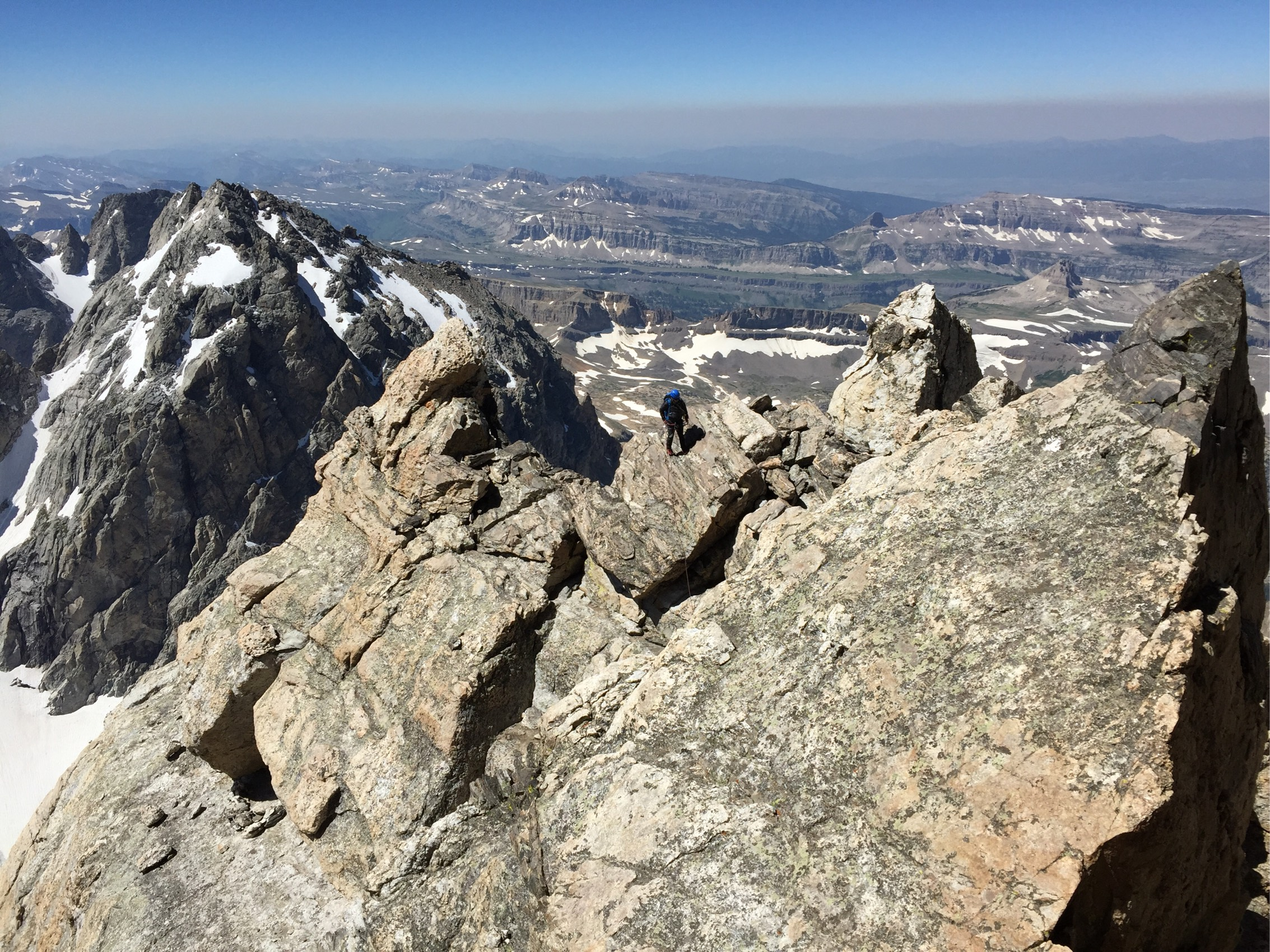 View from the Grand Teton